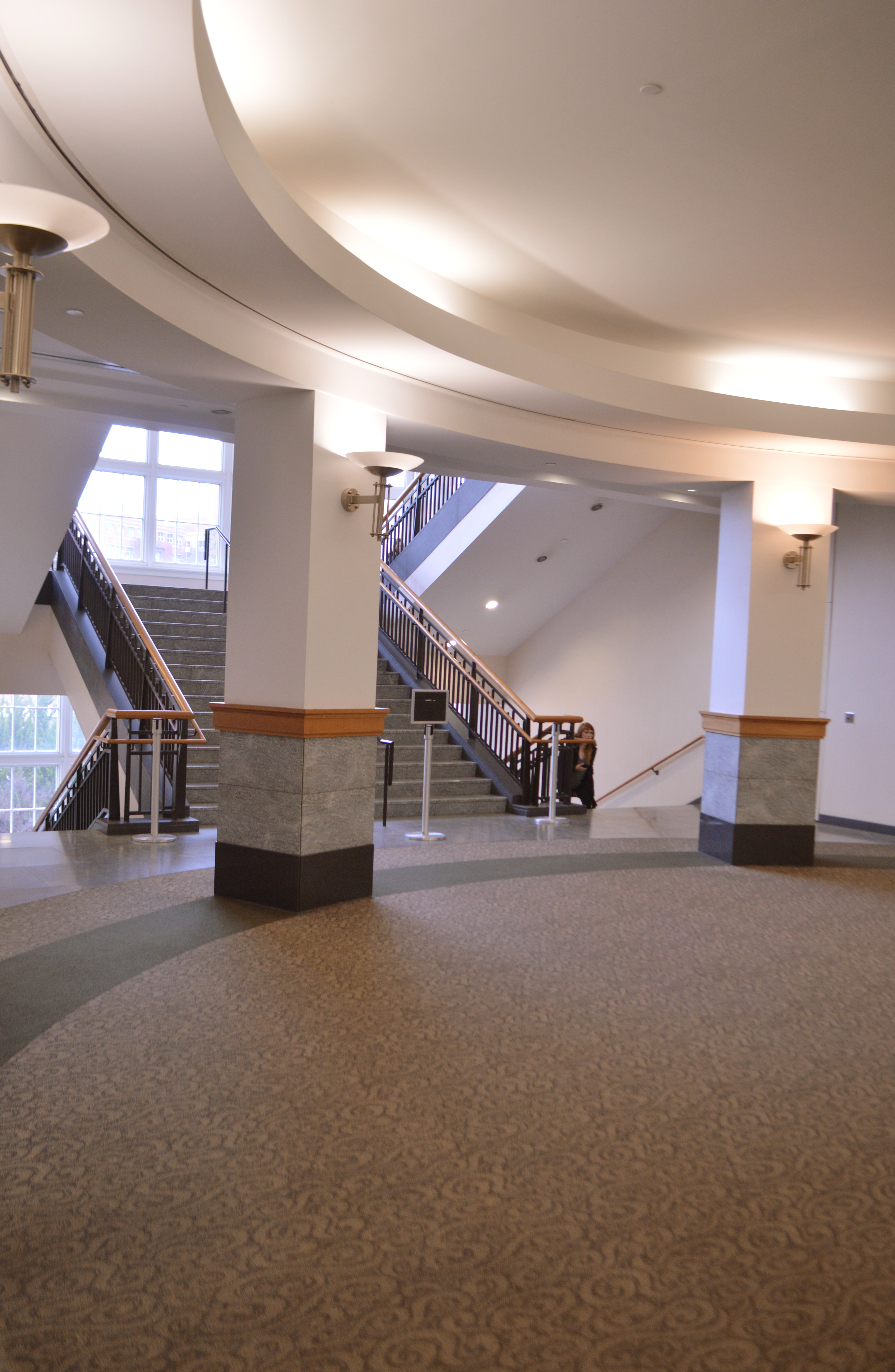 3rd floor rotunda and staircase