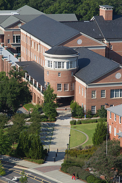 Aerial view of the MLC