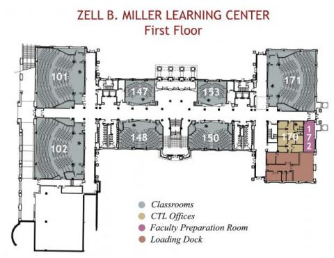 MLC First Floor Plan