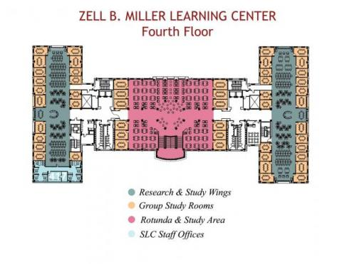 MLC Fourth Floor Plan