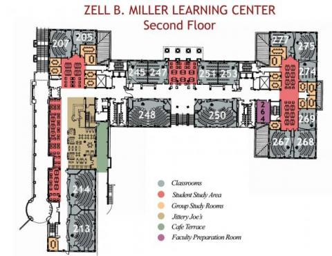 MLC Second Floor Plan