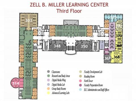 MLC Third Floor Plan